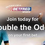 Double the Odds on Your First Bet>> http://t.co/UZ9K3myKkh from BetFred #Arsenal #Liverpool #Chelsea http://t.co/jLMDqaUVVy