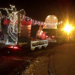 Third place in the santa parade underway in Antigonish tonight http://t.co/LC5qcHkQUu