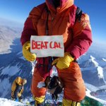 """Taking fandom to new heights. #BigGame MT @StanfordFball: From Mt. Everest: """"#BeatCal"""" #gostanford (via @roeske) http://t.co/vlPov004Hm"""