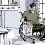 Shameful. Conservatives closed 9 Veterans Affairs offices to save $5 million while Vets w PTSD are dying. #CdnPoli http://t.co/aNKCZqATH2