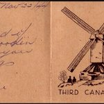 A #Christmas card sent home to #Canada by Capt. George Hipel #OTD in 1944 http://t.co/71fLwNHGoG #SWW http://t.co/qZjpKZRJTL