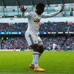 Wilfried Bony has the most #BPL goals in 2014 (17) and is now @SwansOfficials best-ever League scorer (21) #MCISWA http://t.co/GAjLGvXB91