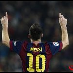 Dato: #Messi iguala a Telmo Zarra como el máximo goleador de la historia de la #LigaBBVA. http://t.co/oZk0ZVrdtP