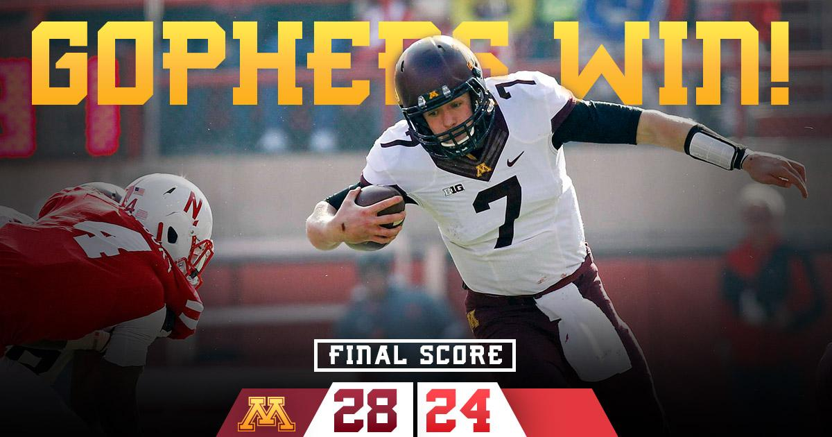 Final from Lincoln. #MINNvsNEB http://t.co/Lt1YiXPcKy