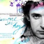 Hoy 22.30hs, mirá el homenaje a Cerati en la @TV_Publica o escuchalo en directo por FM 93.7 o http://t.co/8ITEXncbP8 http://t.co/CfWMM42ijz