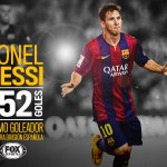 ¡Gol para la historia! #Messi anota el cuarto del @FCBarcelona_es y supera el récord de Zarra: http://t.co/TRNRppAbjy http://t.co/R29WaST7Jj