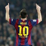 LEGEND: Lionel Messi becomes the all-time La Liga goalscorer with 252 goals, at the age of 27. Incredible! http://t.co/Ej7Yh3IO8L