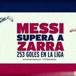 FCB 5-1 SEV: ¡Messi firma su triplete particular tras otra combinación con Neymar! #FCBlive http://t.co/p30SaSUoXS