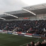 2,600 Birmingham fans at Rotherham today. #BCFC http://t.co/eajrVTH8af