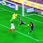 VIDEO: Lionel Messi BREAKS the all-time La Liga record for goals scored http://t.co/NXQMbUpchl http://t.co/HgBKU8ruJH