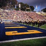The 117th #BigGame just getting underway from Berkeley! Heres a pre-game look-in at the @CalBand. #GoBears http://t.co/PjwVsxS1eL