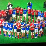 HUGE RESPECT to @EnglandRugby for their show of solidarity with Manu Samoa #SamoaUnited after the match #ENGvSAM http://t.co/kZuEYm2Htz