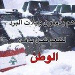 تحية من القلب الى كل عنصر من القوى الامنية..  @LebISF @LebaneseArmy #شتي_يا_دنيي http://t.co/8IXBSoj1CQ