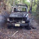 """@AlvaroUribeVel: @alaluzpublica1: @4ALEXCASTRO Guerrilla quema vehículo en Cajamarca, Tolima. http://t.co/bNpDP0DRZr http://t.co/uwaGpeS3OU"