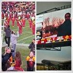 """Meta. RT @danielyp29: Iowa Nice Guy taking a video of the Iowa Nice Guy playing on the video board @scottsiepker http://t.co/kjEDUGCSaV"""""""