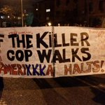 New York City is turning up right now for #AkaiGurley. #PoliceViolenceWillNotBeTolerated #Ferguson 2 #NYC http://t.co/hN28ZGKKHq