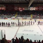 4-0 is the final here at Lynah Rink! Hayden Stewart earns the shutout as The Big Red beat Brown University. http://t.co/Ap2H85utsA