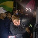 #MikeBrown mother gets love from #Ferguson protesters now #FergusonNovember http://t.co/Goo3nhtt34