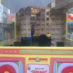 Here is the booth opposite KFC on Linking Road #MirchiHotspot @EqualStreets 7-11 am! Come come!! http://t.co/h4zBTLieFh