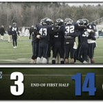 At the end of the 1st half: Maine - 3 UNH - 14 #BlackBearNation http://t.co/SqwAcDdgZj