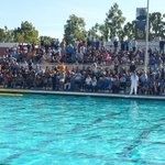 Great crowd at Long Beach State for LB State and UCLA in the MPSF semifinals http://t.co/XqaC5tZJYt