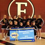 Congrats to the FHS Competition Cheerleaders who were named UCA Regional Champs today & secured a bid to Nationals!! http://t.co/jSryTma1v0