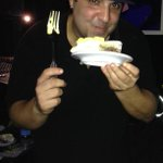 DJ Radamas had his cake and ate it too! #BirthdayBoy #UNTV #UniverseMiami #ArtistPremierMiami #LiveMusic #Fun #Miami http://t.co/PLSsUlwJIg