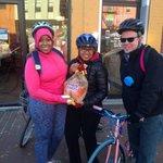 We handled #cranksgivingTODAY #dc #miriamskitchen #biketothebeach. Thanks @jim_daniel for your strategy! http://t.co/rNw28mMyiR