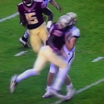 Florida State's Matthew Thomas was ejected for targeting for this brutal hit http://t.co/Qa84ETTYWx http://t.co/0o46Yhnb2S
