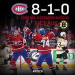 Le Canadien a le numéro des Bruins! http://t.co/9Gti4aasSM Le #CH poursuivra-t-il sa bonne séquence? #RDSCH http://t.co/NCjZljdEFe