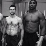 Carl Froch and Anthony Joshua. http://t.co/GbcIs1ykad