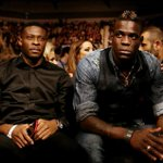 Mario Balotelli is in for a late one at the Nathan Cleverly-Tony Bellew fight. Not like Liverpool play tomorrow... http://t.co/jb75YApe8S