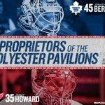 The Proprietors of the Polyester Pavilions are Jonathan Bernier and Jimmy Howard. #TMLtalk http://t.co/10K8pES0XU