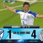 Gol de Godoy Cruz: Ramírez 23 ST.: Vélez 1 – Godoy Cruz 4. Miralo en vivo por http://t.co/m2u06alA9s http://t.co/eNZFnwgtWq