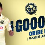 40 Gooooooooooool!!! de nuestras Águilas, Gol de @OribePeralta #VamosAzulcremas http://t.co/iijpWQ9DG2