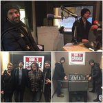 @thetrews in @981theBridge studio! SO pumped for tonight!! #yql get there early, u dont wanna miss @TheGloriousSons! http://t.co/jpBqZadnYz