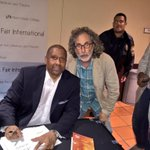 "Book signing @tavissmiley @MiamiBookFair #MBFI ""I need visine."" #TavisSmiley ""He doesnt give anybody a free pass."" http://t.co/EMSipxQsGs"