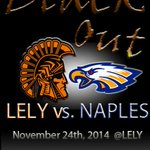 The Biggest Rivalry in Collier County! Naples @ Lely on Monday November 24th, 2014 at 7pm #WearBlack #WeAreLely http://t.co/vkHc1sJ467