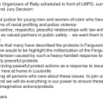 Got an email from a #Louisville #Ferguson rally organizer, listing their intents. #loumedia http://t.co/EFyMxHSd5X
