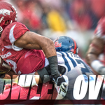 FINAL | Arkansas 30, Ole Miss 0 Arkansas records back-to-back SEC shutouts for first time in program history. #WPS http://t.co/ja8NuRLpLm