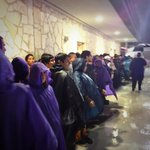 Die-hard Weslaco Panthers fans are waitng for the game to start back up! #txhsfb #RGV http://t.co/ygksIhT4sl