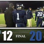 Final: Maine - 12 UNH - 20 #BlackBearNation http://t.co/mg3YTwRDlK