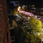 Downtown norfolk is slammed right now. Parade madness. @13NewsNow http://t.co/87KBYk5rlv