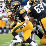 FINAL: Wisconsin 26, Iowa 24. #Hawkeyes hang tough, but Badgers better: http://t.co/ECz78pKLdO http://t.co/BSt5IQ8rf8