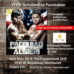 #Vancouver #Filipino Watch the fight tonight at the Coppertank & support a good cause. #pacquiaoalgieri http://t.co/mQAbla5Gne