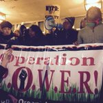 #charlesbarron leads chants of #bratton must go in #nyc #akaigurley http://t.co/RQZJs0iCDu
