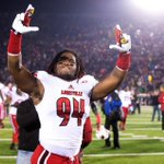 .@Lozo_Mauldin_IV celebrating after tonights win over Notre Dame. #L1C4 #GoCards #CardNation http://t.co/Qz7yDlxXPZ