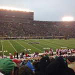 Rain ..a little cold still a great game and great win for the #Cards in an incredible place #NotreDame #wave3cards http://t.co/zeeqWhQ4lI