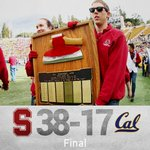 """""""@StanfordFball: The Axe is staying at Stanford! #GoStanford #BeatCal http://t.co/2oCuYICXCX"""""""