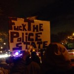 Fuck the police state! Here in #EastNY #Brooklyn marching for #AkaiGurley! #ACAB #FTP #NYPD http://t.co/NHp8fjFHOh
